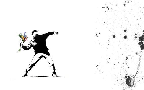 BanksyFlowerChucker Cómo evadir la censura y el bloqueo de Internet en Latinoamérica