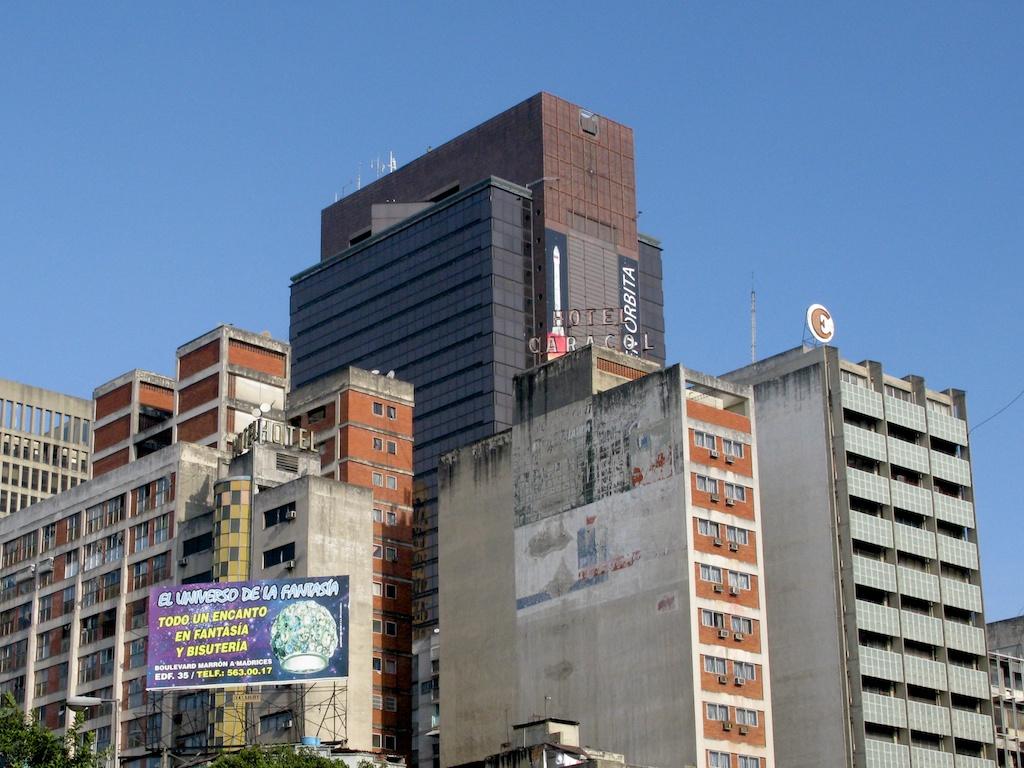 Caracas, extraña